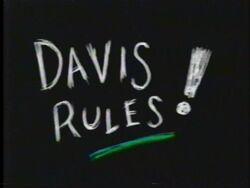 Davis Rules!