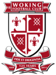Woking FC logo (125th anniversary)