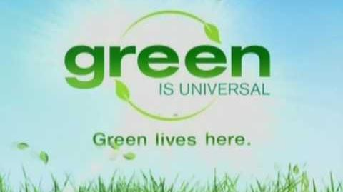 Green Is Universal Television Logo (2009)