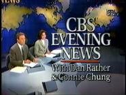 CBS Evening News Open 23-07-1993