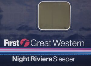 Night Riviera branding