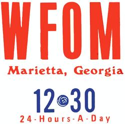 WFOM Marietta 1971