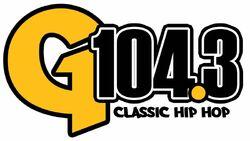 G104.3 logo