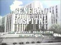 ''General Hospital'' Video Close From Early 1983