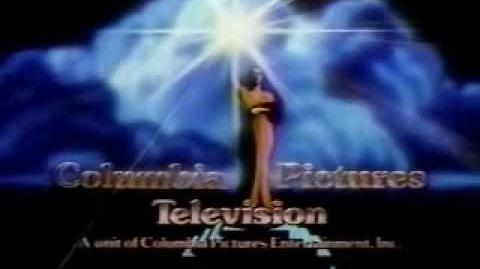 Columbia Pictures Television logo 1987 (Far Distance)