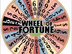 Wheel of Fortune Family Guy