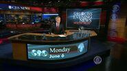 CBS News' CBS Evening News With Scott Pelley Video Open From Monday Evening, June 6, 2011 - 2