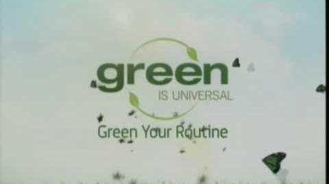Green Is Universal Television Logo (2008)