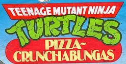 Teenage Mutant Ninja Turtles Pizza Crunchabungas logo