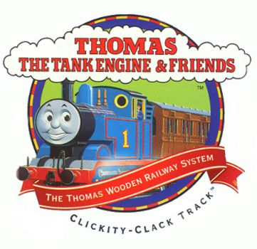 Thomas & Friends Wooden Railway Logo 1996-2000