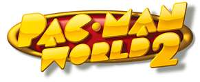 Pac man world 2 logo