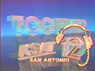 KSAT-TV's Together On KSAT 12 ID From Late 1986