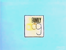 Family Dog Title Card