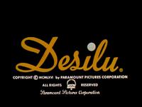 Desilu Copyright Paramount