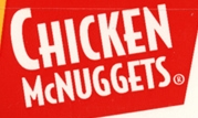 McDonald's Chicken McNuggets 1995 logo
