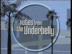 Notes Underbelly