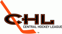 Central Hockey League logo (1992-1999)