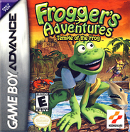 Frogger's Adventures Temple of the Frog Cover