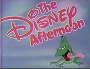 Disney Afternoon frog