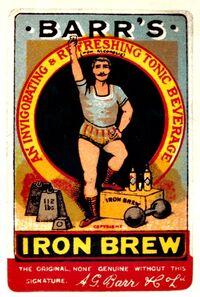 Irn-Bru logo 1901