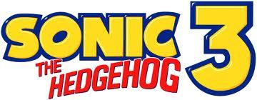 Sonic the hedgehg 3 logo