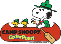 Camp Snoopy (Cedar Point) logo