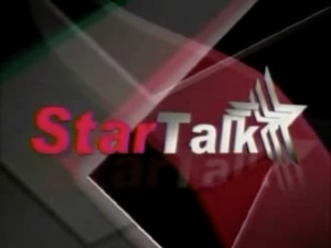 Startalk 10th Year OBB Logo (October 2005)