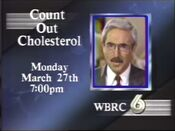 WBRC Channel 6 Count Out Cholesterol promo 1989