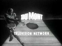 DuMont 1954 Football Promo