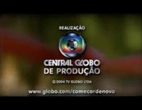 Começar de Novo seal short Globo 2000 logo 2004