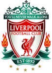Liverpool FC logo (five gold stars)