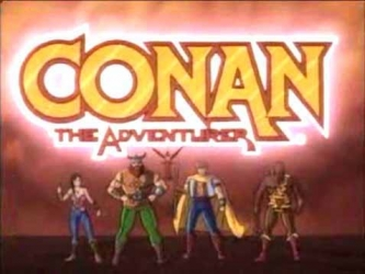 Conan the adventurer-show