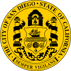 Seal of San Diego, California svg