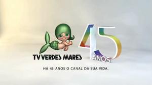 TV Verdes Mares 45 anos