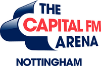 Capital FM Arena Nottingham logo