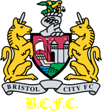 Bristol City FC logo (1997-1998, home)