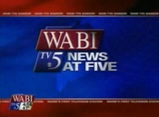 WABI-TV's WABI-TV 5 News At 5 Video Open From 2010