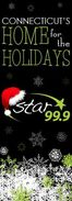 WEZN-FM's Star 99.9's Connecticut's Home For The Holidays Promo From Late November 2011