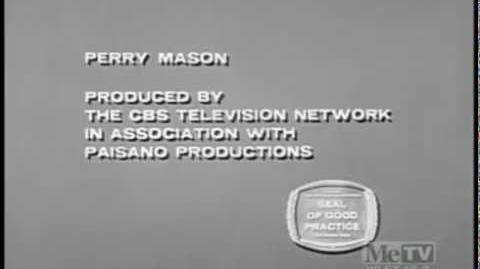 "Perry Mason Closing (1964) Viacom ""Wigga Wigga"" (1990)"