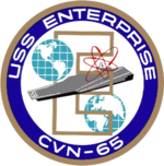 150px-USS Enterprise (CVN-65) coat of arms