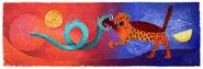 Google Rufino Tamayo's 114th Birthday
