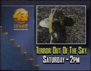 WUAB 1989 - TEEROR OUT OF THE SKY ID!