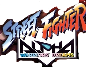 Street Fighter Alpha Warriors' Dreams logo