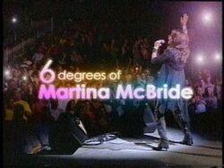6 Degrees Martina McBride