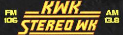 KWK AM FM Stereo WK