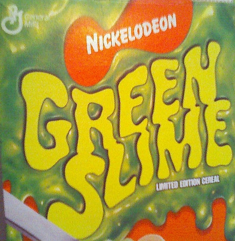 Nickelodeon Green Slime Cereal logo