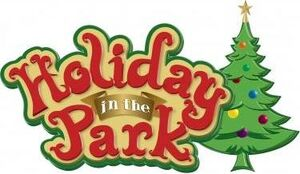 Holiday in the Park logo