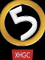 XHGC Canal 5 logo 1993
