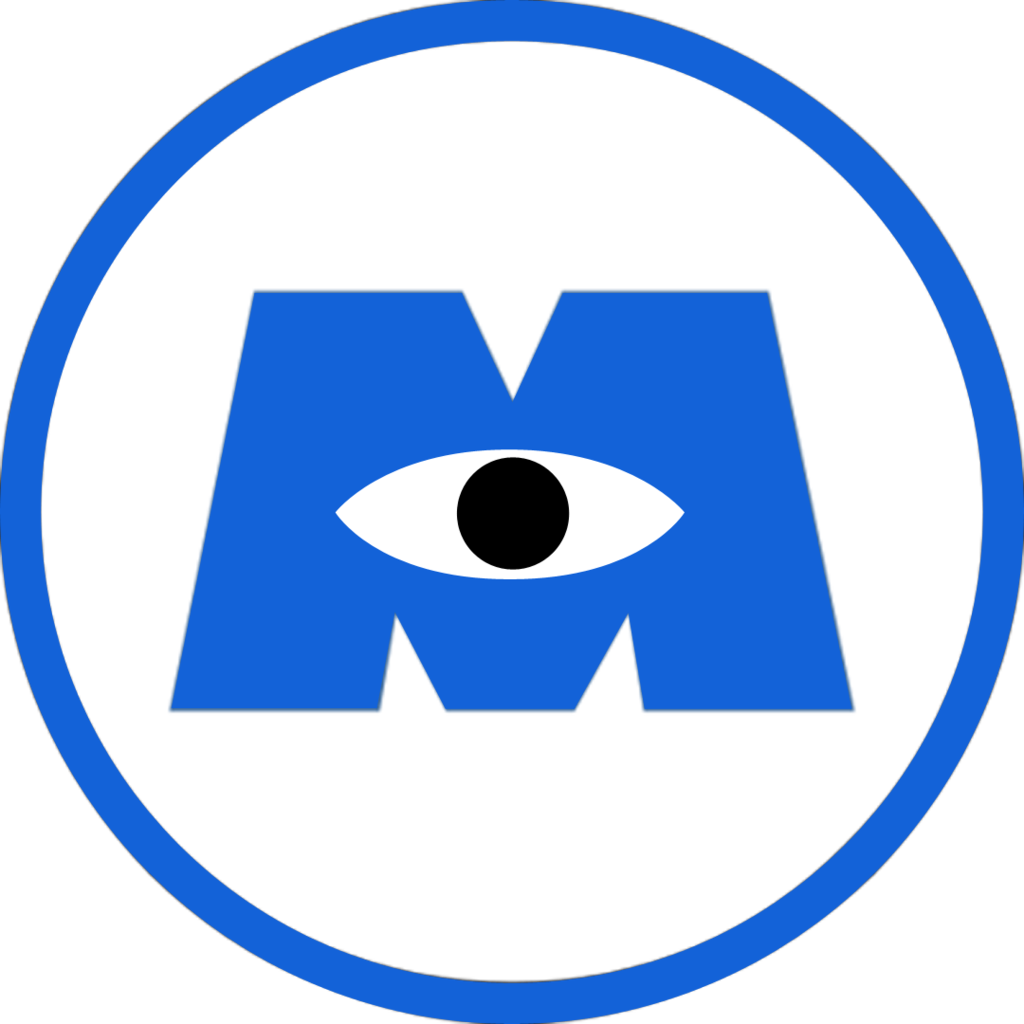 Cars That Start With The Letter D >> Image - Monsters inc logo by jubaaj-d8syzr0.png | Logopedia | Fandom powered by Wikia