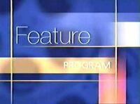 Walt Disney Studios Home Entertainment Buena Vista Feature Program Logo 2002